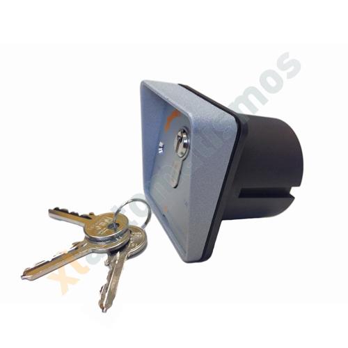 Llav n aluminio de empotrar productos xl automatismos - Automatismos para puertas de garaje ...